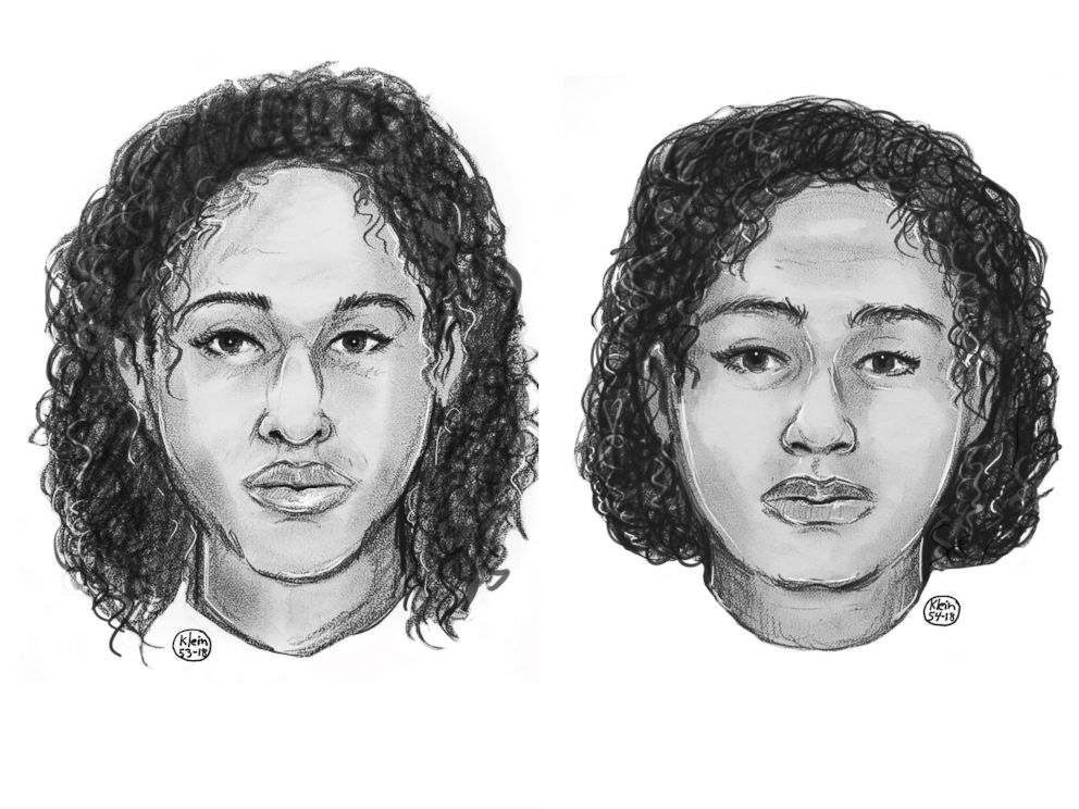 PHOTO: Police sketches of the two women found taped together in the Hudson River on Oct. 24, 2018.