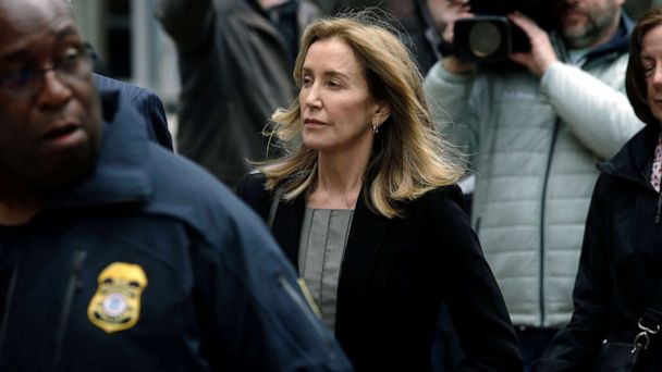 Actress Felicity Huffman pleads guilty in 'Varsity Blues' college admissions scandal