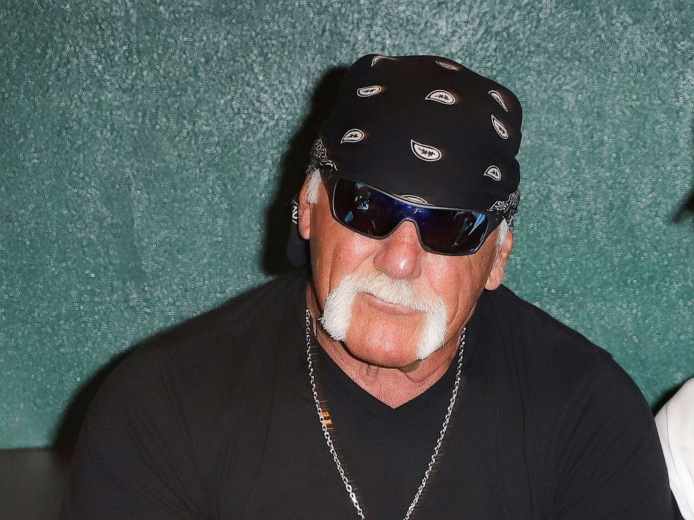 PHOTO: Hulk Hogan attends Celebrity Sports Agent Darren Princes Private Event For His New Best Selling Book Aiming High, October 8, 2018, in Miami.
