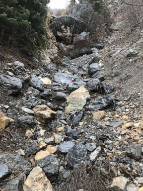 PHOTO: Utah County Sheriffs Office shared this photo of the area where human remains where found.