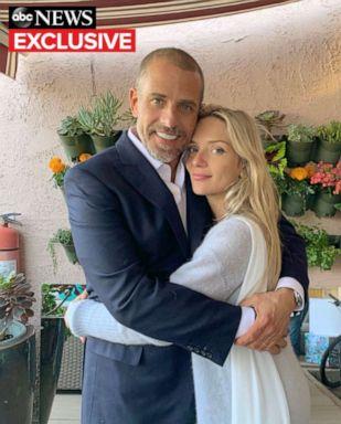 PHOTO: Wedding photo of Hunter and Melissa Biden, May 2019.
