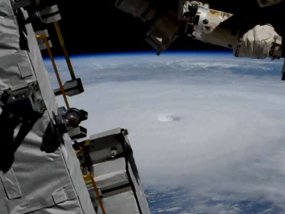 PHOTO: Hurricane Michael is seen from the International Space Station, Oct. 10, 2018.