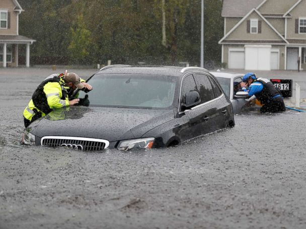 Florence dumped about 8.04 trillion gallons of rain on North Carolina