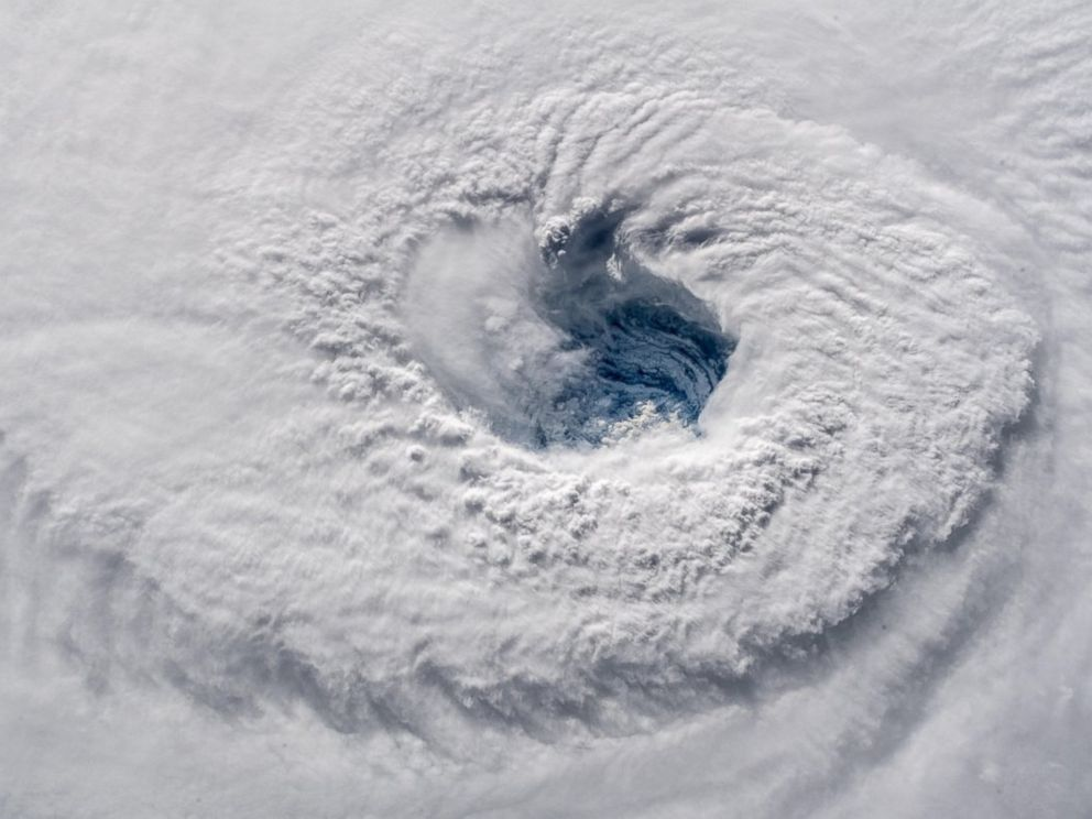 Hurricane Florence from space: photos of the hurricane showed in the NASA