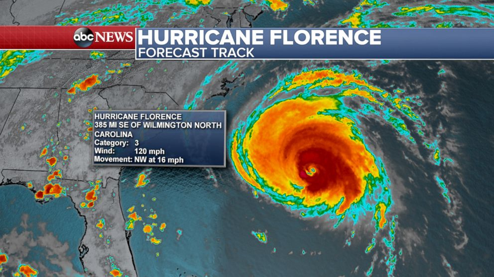 hurricane florence tracker - photo #2