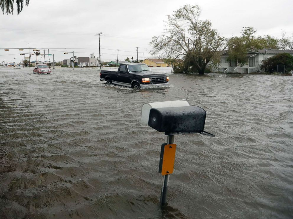 Levee breached in Texas amid 'epic and catastrophic ...