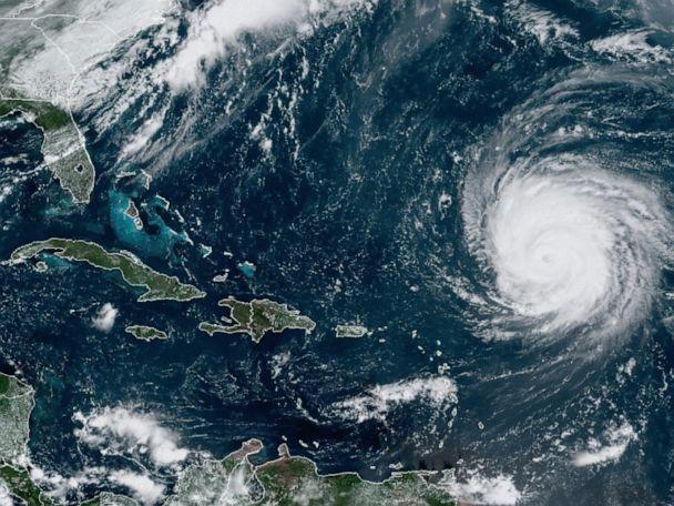 Category 4 Hurricane Teddy may skirt Bermuda, days of rain headed to Texas