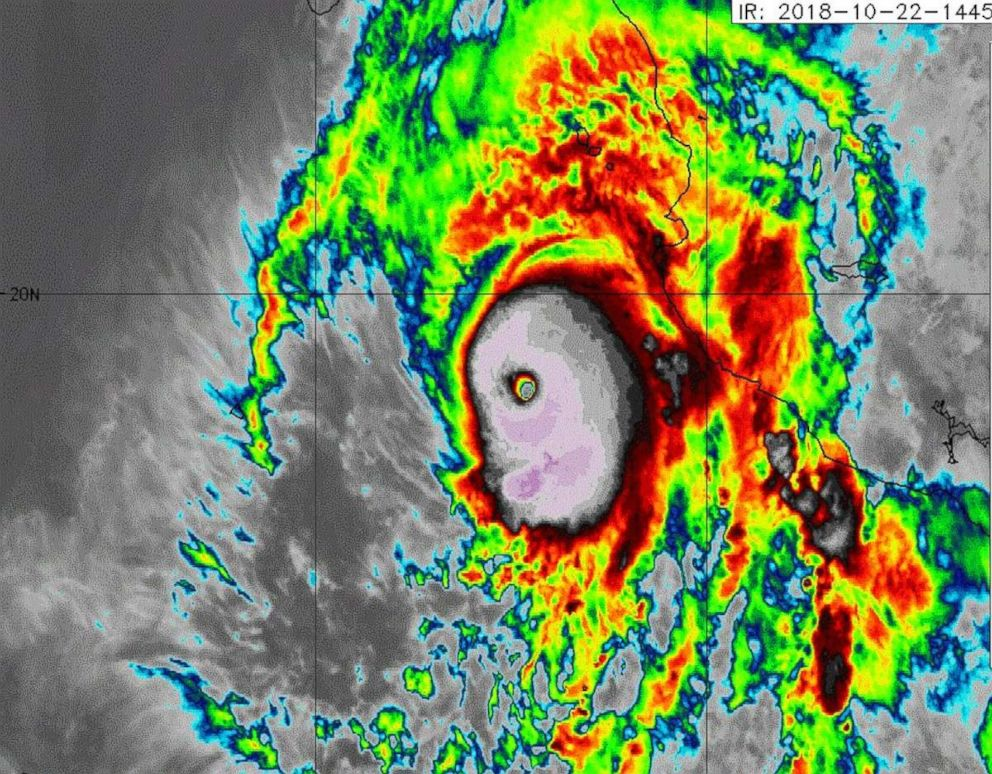Hurricane Willa grows into 'potentially catastrophic' Category 4 monster