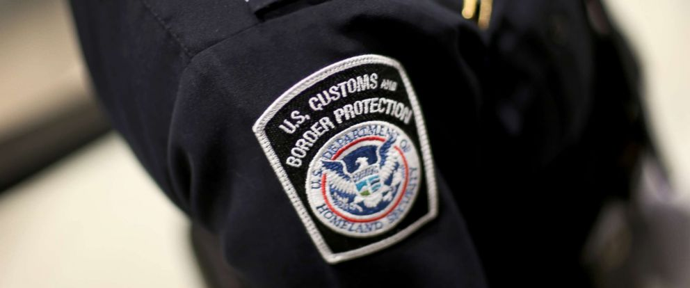 PHOTO: An officer is pictured in his U.S. Customs and Border Protection uniform.
