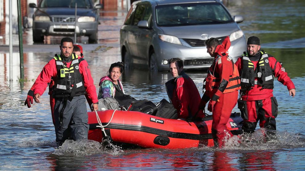 At Least 48 People Dead in the Northeast After Flooding and Tornadoes Caused by Remnants of Hurricane Ida