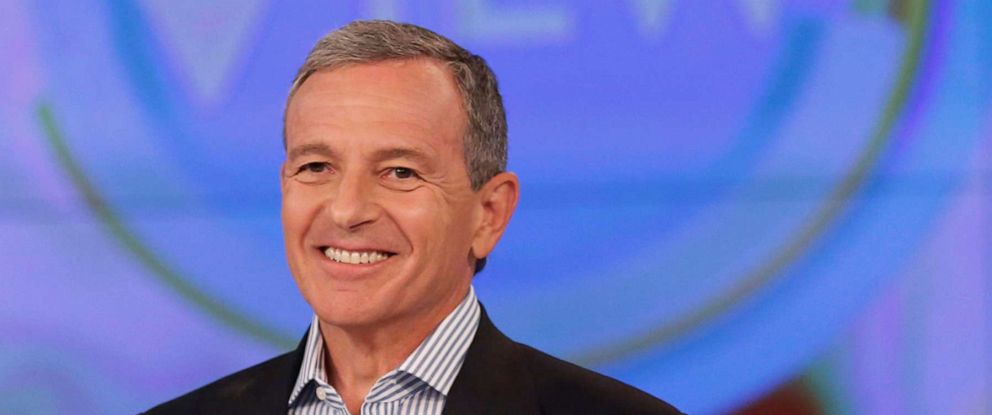 """PHOTO: Chairman and CEO of The Walt Disney Company Robert Iger discusses his book The Ride of a Lifetime,€ on ABCs """"The View."""""""