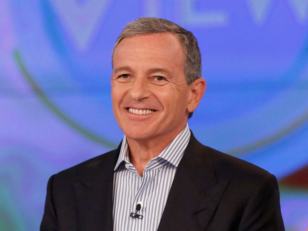 PHOTO: Chairman and CEO of The Walt Disney Company Robert Iger discusses his book The Ride of a Lifetime,€ on ABCs The View.
