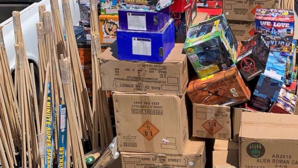 Police seize 5,000 pounds of illegal fireworks in Southern