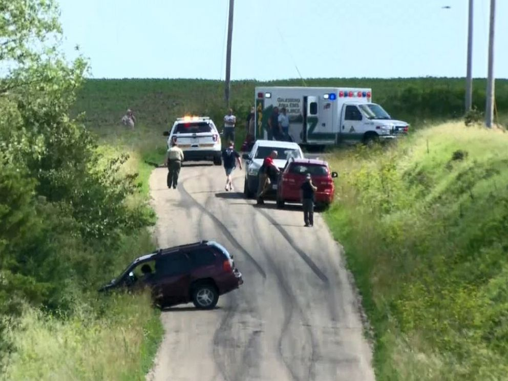 PHOTO: A sheriffs deputy was shot and killed in rural Avon, Ill., on Tuesday, June 25, 2019.
