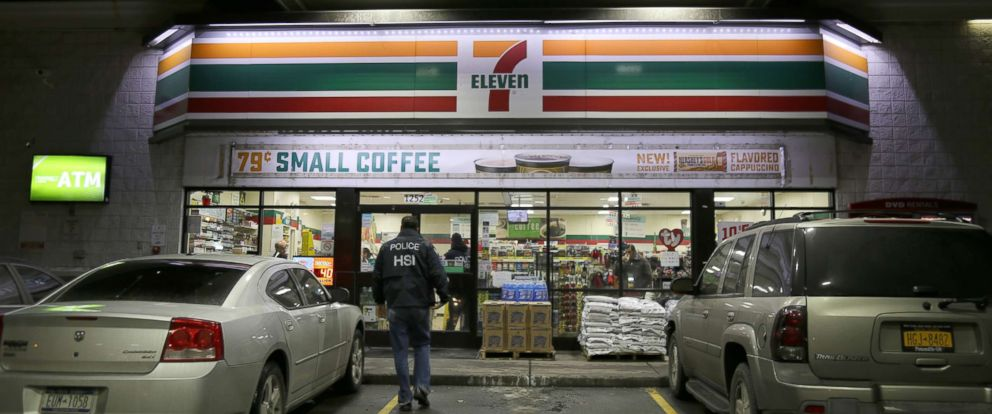 PHOTO: Immigration and Customs Enforcement (ICE) targeted 98 7-Elevens, Jan. 10, 2018, in a nationwide crackdown on worksite immigration violations.