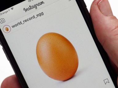 Egg-cellent! An egg becomes the most-liked image on Instagram
