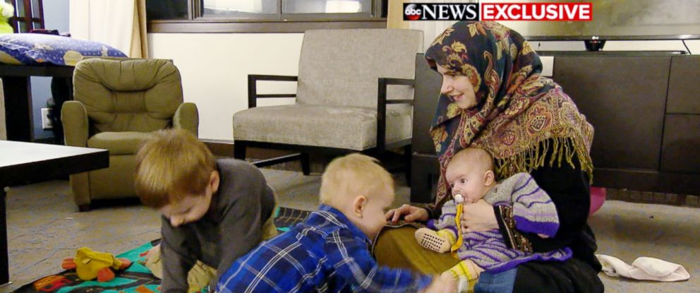 PHOTO: Now living in Canada, Caitlan Coleman Boyle says she is focused on helping her children make up for lost time.