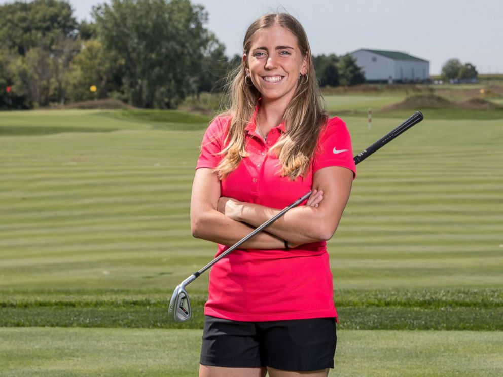 PHOTO: Golfer Celia Barquin Arozamena poses for a photo, Sept. 7, 2017 at Iowa State University in Ames, Iowa. The former ISU golfer was found dead on Sept. 17, 2018, at a golf course in Ames.