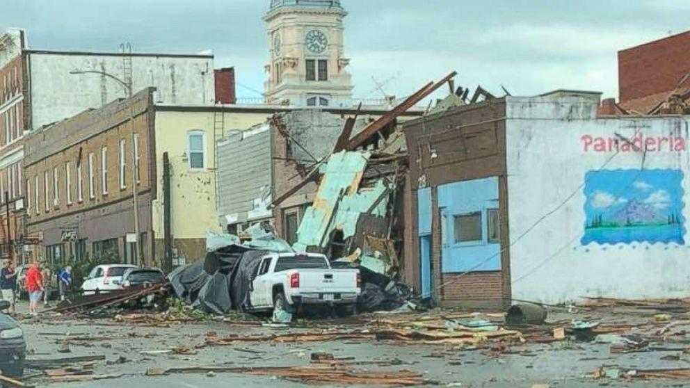 At least 10 injured as tornadoes rip through Iowa - ABC News
