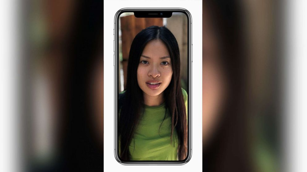 Apple has revealed the iPhone X in the Steve Jobs Theatre at the Apple Park, the new company headquarter of the iPhone manufacturer, Sept. 12, 2017. The new iPhone X kills the home button to make space for a larger screen. To unlock the phone, you use your face with a new technology called Face ID.