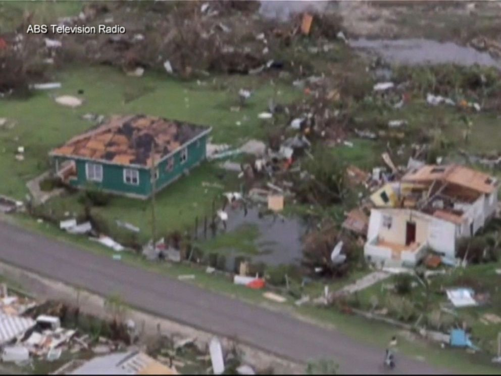 PHOTO: A view of the aftermath of Hurricane Irma in Barbuda, Sept. 6, 2017.