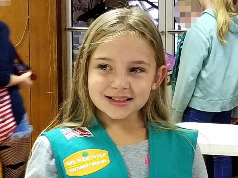 PHOTO: An undated photo of Isabelle Meyer, 11, who died when a tree fell on her at an Indiana Girl Scouts camp facility.