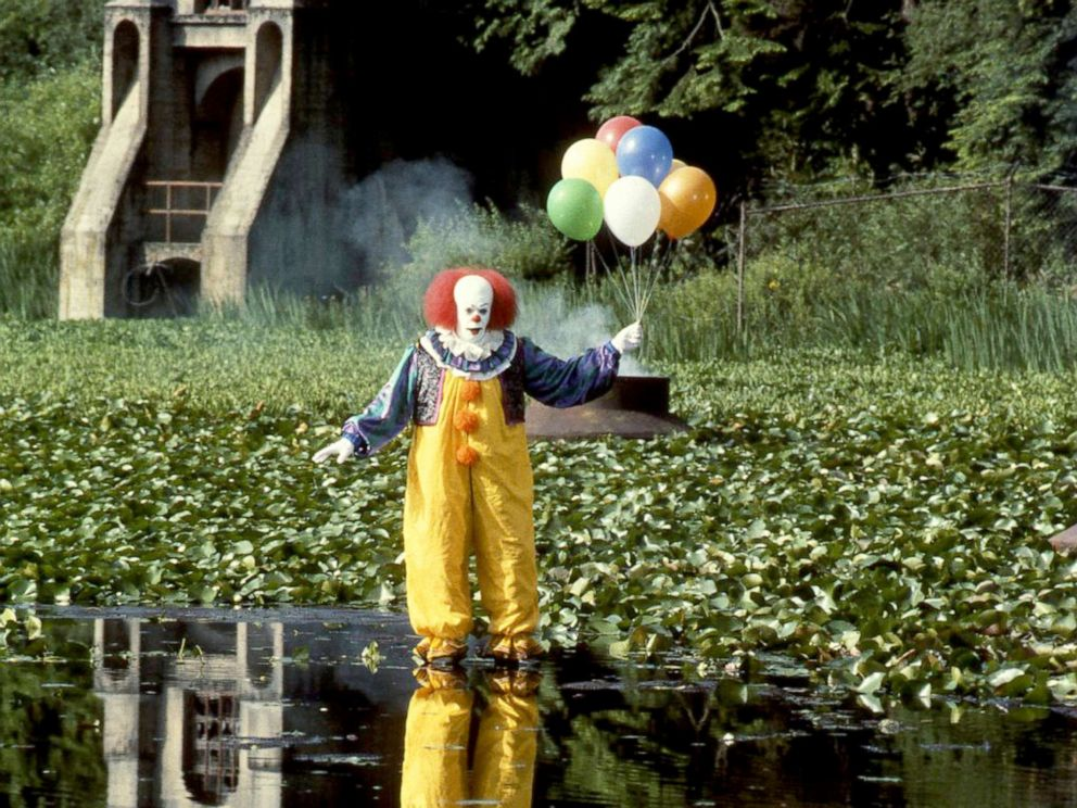 PHOTO: Tim Curry, as Pennywise, in a scene from the made-for-television movie, It.