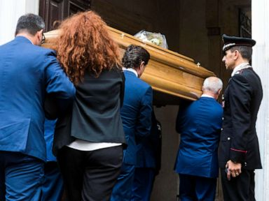 Italian cop allegedly killed by US teens to be mourned in church where he was married