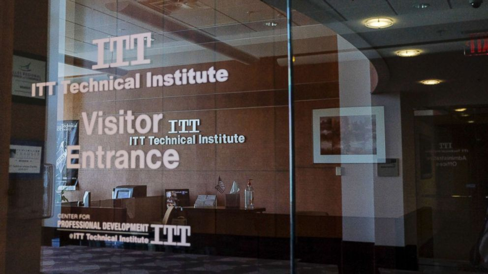The Chantilly Campus of ITT Technical Institute sits closed on Sept. 6, 2016, in Chantilly, Va.