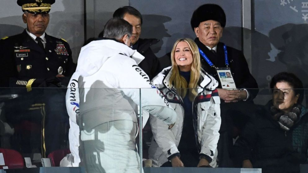 Image result for photos of ivanka in n korea