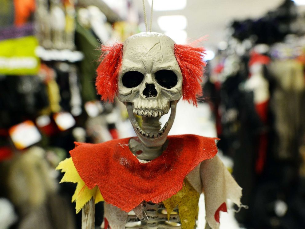 PHOTO: Halloween decorations are displayed at a store in Rockville, Md., Oct. 22, 2013.