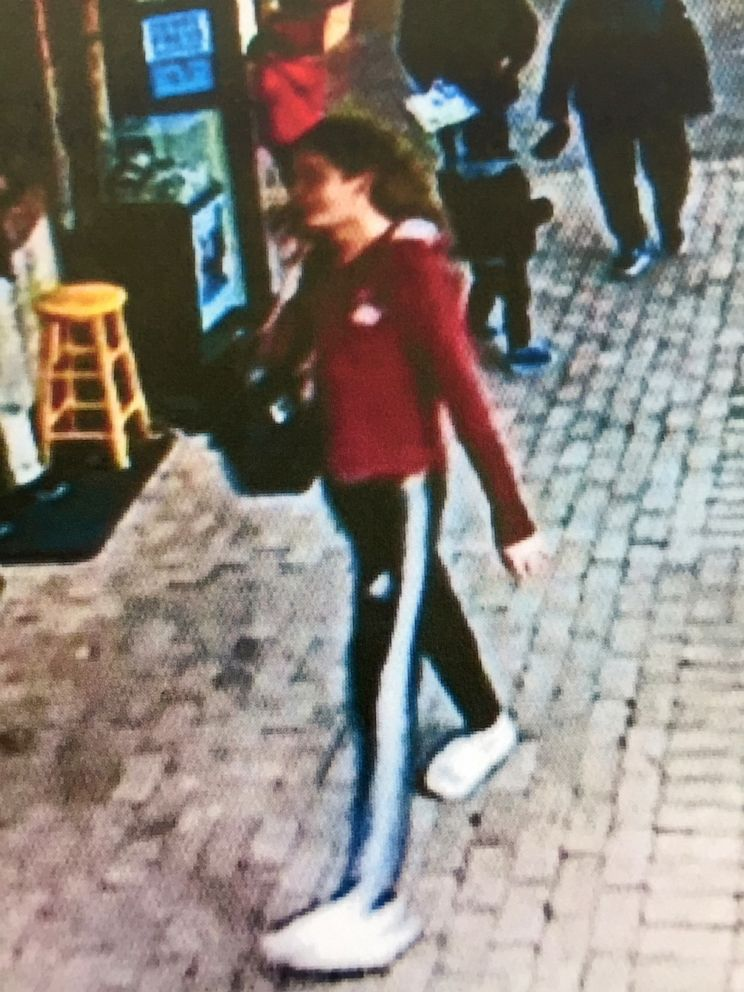 PHOTO: Surveillance video taken at the Houston Zoo shows suspect Jaden Andel, 21, on the day he allegedly stole Squishy the 16-year-old Siebenrocks snake-necked turtle.