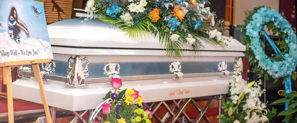 PHOTO: Jakiel Jones casket is pictured in this undated image released by her family.
