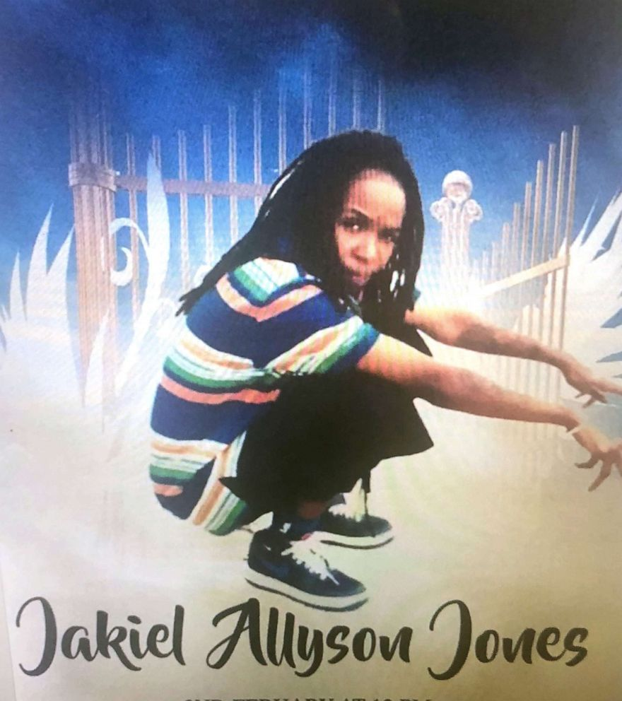 PHOTO: Jakiel Jones is pictured in this undated image released by her family.