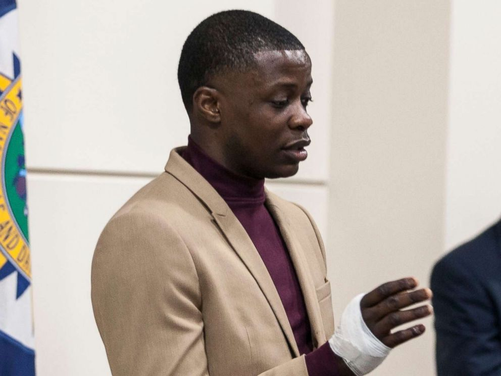 PHOTO: James Shaw Jr. speaks during a press conference in Nashville, Tenn., April 22, 2018.
