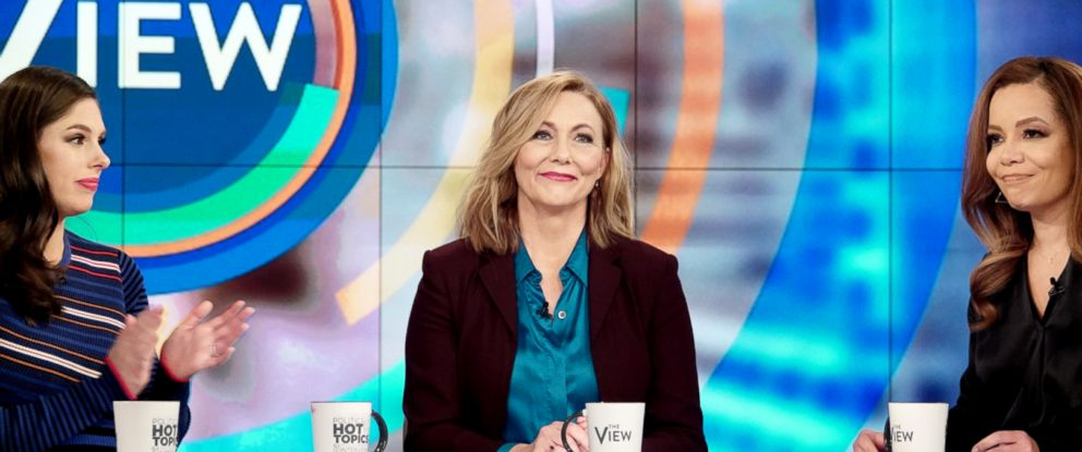 "PHOTO: Jen Broberg from ""Abducted in Plain Sight"" explains to ""The View"" co-hosts how Robert Birtchtold manipulated her her childhood and kidnappings, Feb. 25, 2019."