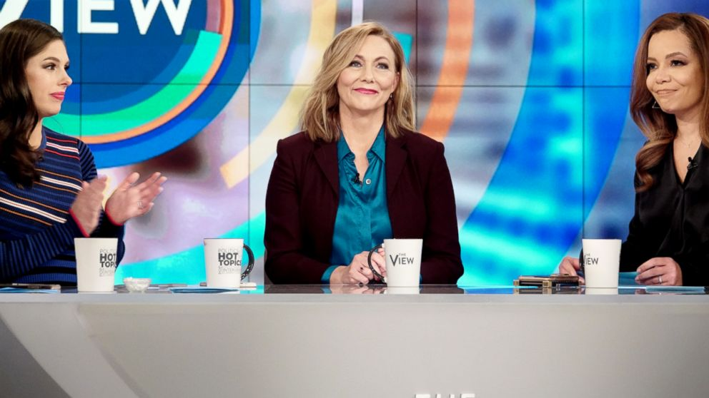 """Jen Broberg from """"Abducted in Plain Sight"""" explains to """"The View"""" co-hosts how Robert Birtchtold manipulated her her childhood and kidnappings, Feb. 25, 2019."""
