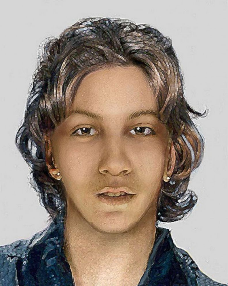 PHOTO: A murdered Jane Doe whose body was discovered in a cornfield in Raymond, Wisconsin, in 1999.