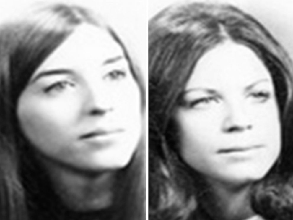 PHOTO: Janice Pietropola and Lynn Seethaler are pictured in images released by the Virginia Beach Police Department. The two 19-year-old women were slain in 1973 while on vacation in Virginia.