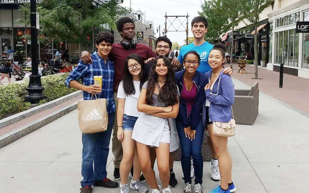 PHOTO: Jared Jaramillo and a group of other first generation college students at Tufts University explore Boston in this photo.
