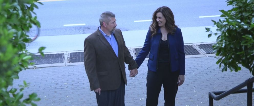 PHOTO: Jason Ogden and Laura Frizzo are now engaged to be married.