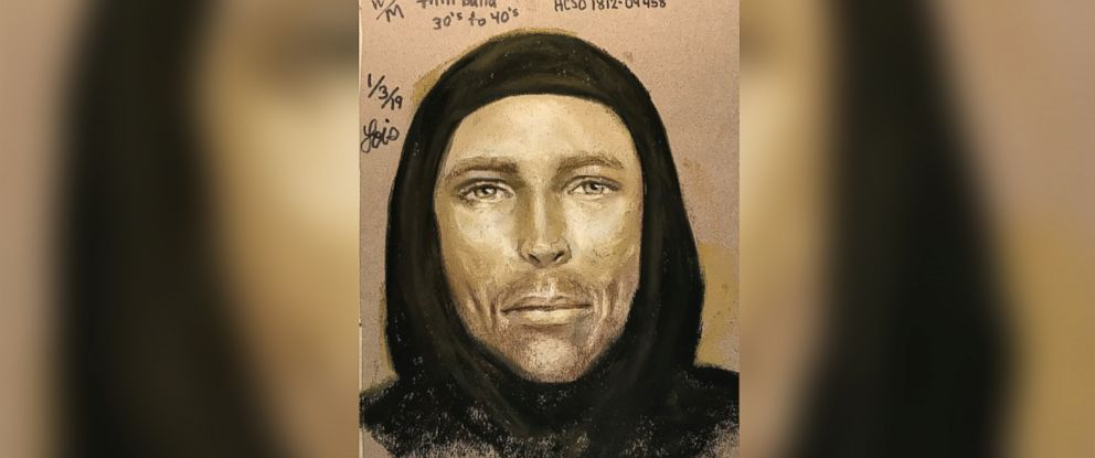 PHOTO: The Harris County Sheriffs Office released a sketch of the man they believe shot and killed 7-year-old Jazmine Barnes on Dec. 30.