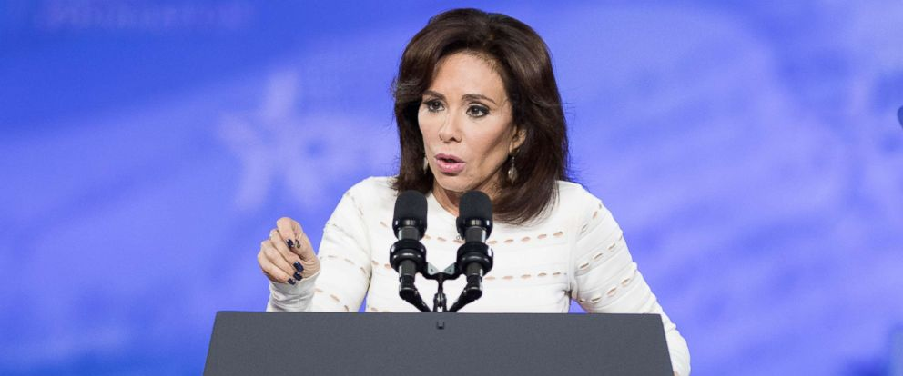 PHOTO: Jeanine Pirro speaks at the American Conservative Unions 2017 Conservative Political Action Conference in National Harbor, Md., Feb. 23, 2017.