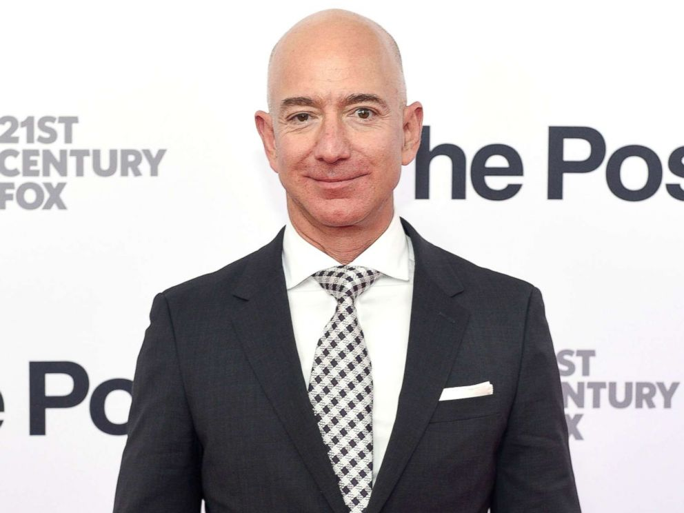 PHOTO: Jeff Bezos arrives at The Post Washington, D.C. Premiere at The Newseum, Dec. 14, 2017 in Washington, D.C.
