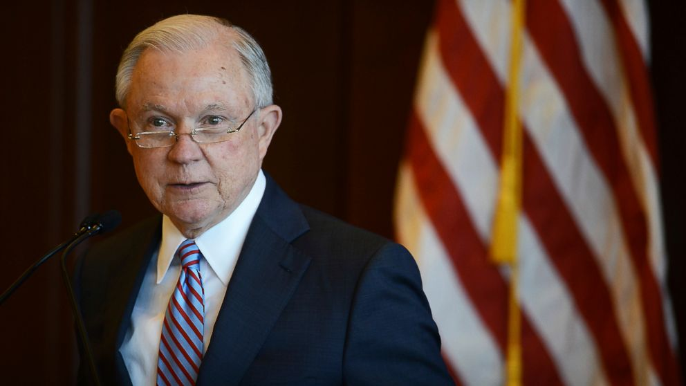 U.S. Attorney General Jeff Sessions speaks on immigration policy and law enforcement actions at Lackawanna College in downtown Scranton, Pa., June 15, 2018.