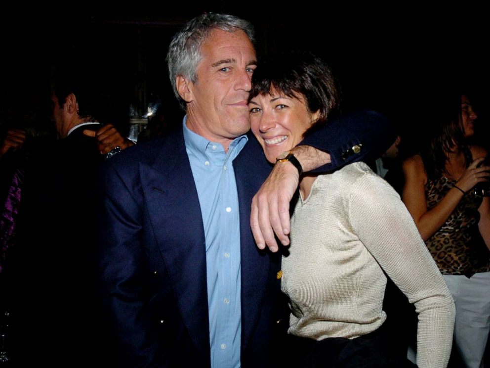 PHOTO: Jeffrey Epstein and Ghislaine Maxwell at Cipriani Wall Street in this March 15, 2005 file photo in New York City.