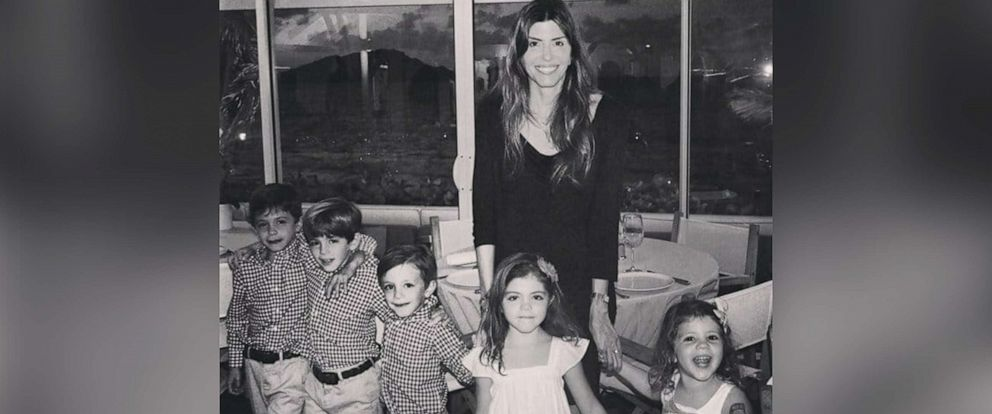 PHOTO: Jennifer Dulos, 50, of Connecticut, is pictured with her five children in an undated family photo.