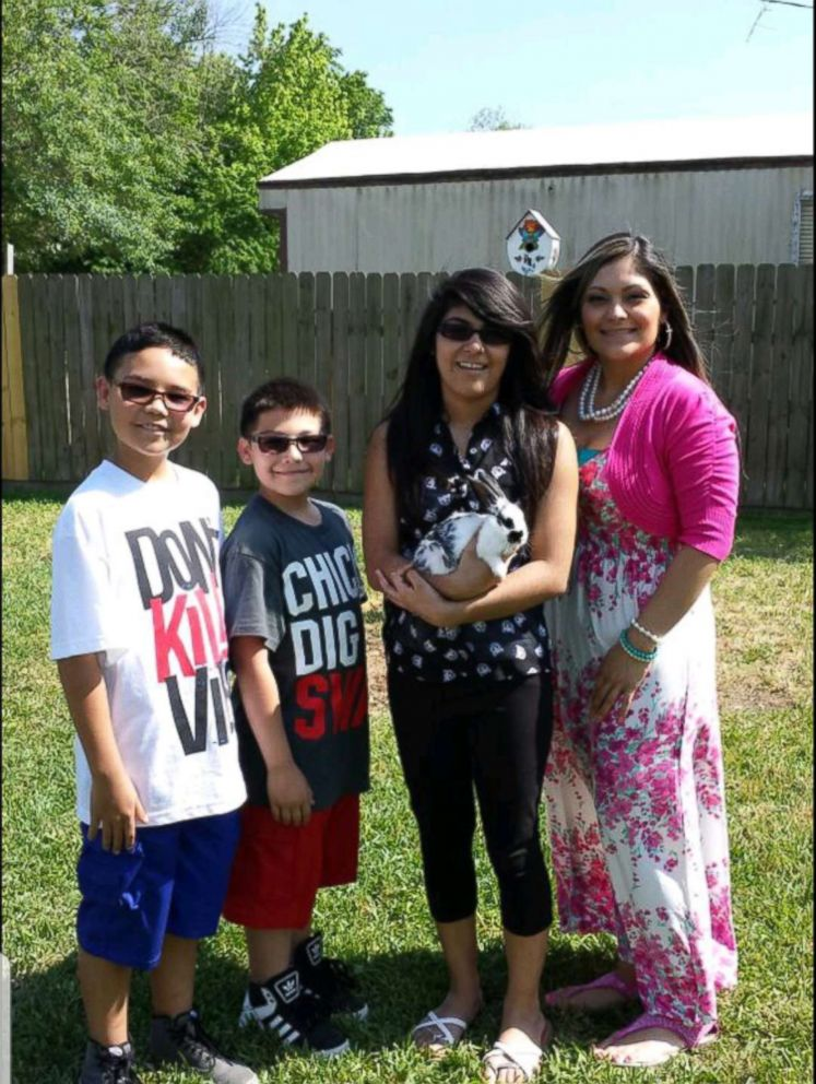 PHOTO: Jennifer Valdez, right, said that her sons Gabe Fernandez, 13, and Nick Fernandez, 15, seen in this undated photo, went over to their friends house as they normally do, but this tragic time left Gabe dead of an alleged accidental gunshot wound.