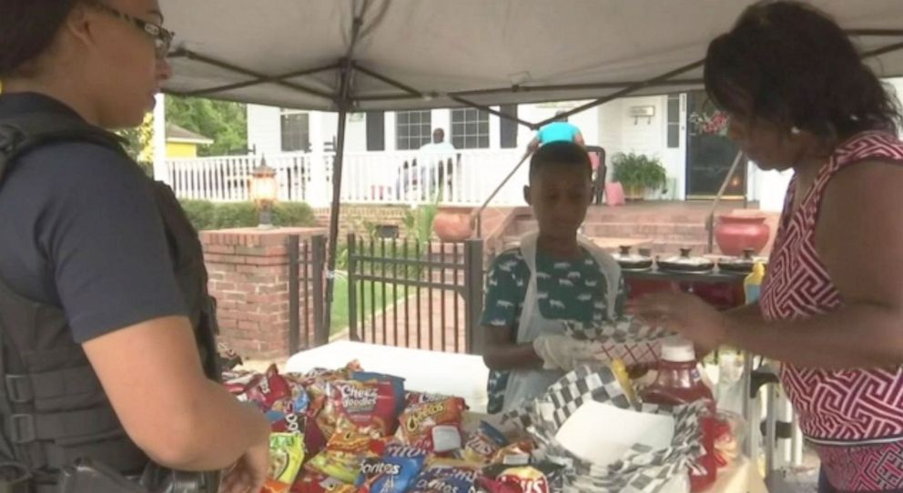 PHOTO: Jermaine Bell, a 6-year-old boy from South Carolina, gave up a chance to go to Disney World in an effort to help victims of Hurricane Dorian.