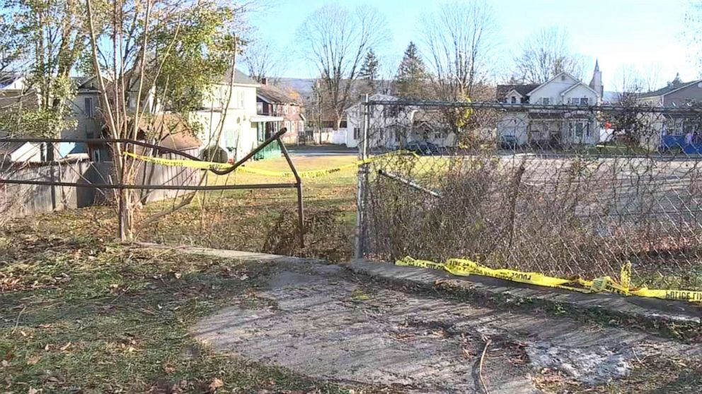 Dead newborn with umbilical cord attached found lying on ground in vacant lot thumbnail